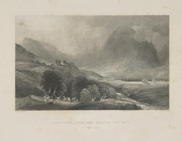 Loch Goil from the Head of the Lake (1838)