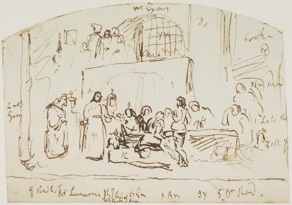 Study of Wishart Dispensing the Sacrament before his Execution