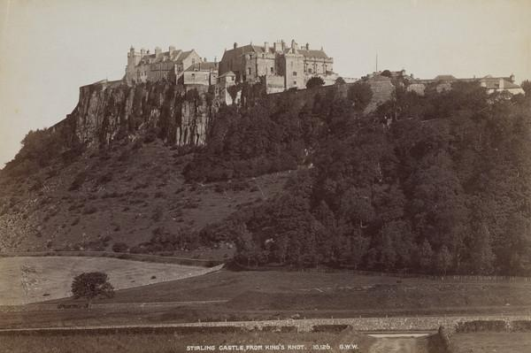Stirling Castle, from King's Knot