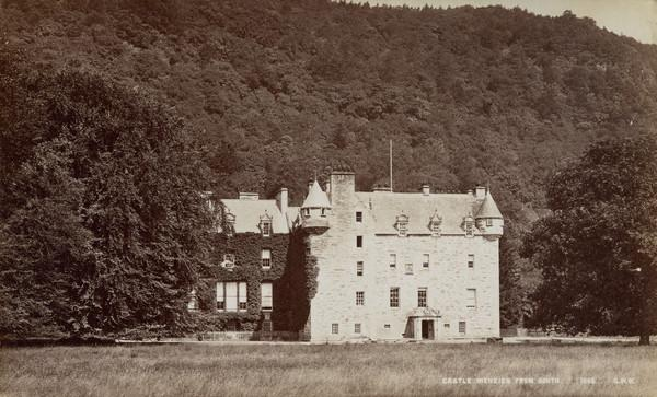 Castle Menzies from South