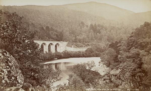 Killiecrankie from near the Soldier's Leap