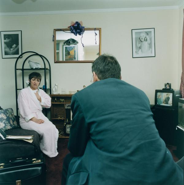 Untitled (Doctor with a Patient)