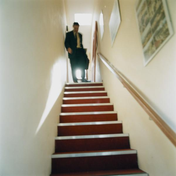 Untitled (Doctor Descending the Stairs)