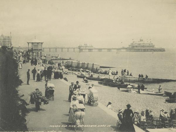 'Parade and Pier, Eastbourne'