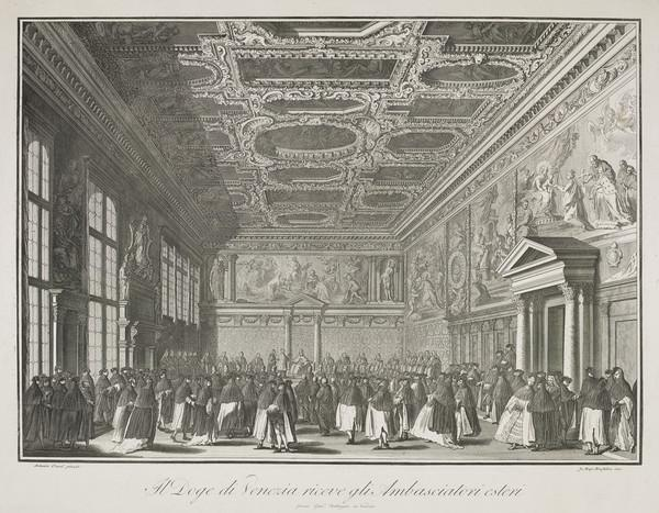 The Doge Receiving the Ambassador's (one of three scenes of Venetian life)