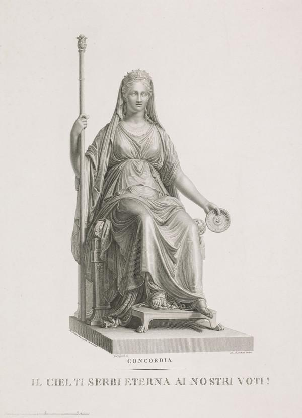 Copy after Canova's Bozzetto. Marie Luisa as 'Concordia' (see NG 2648)