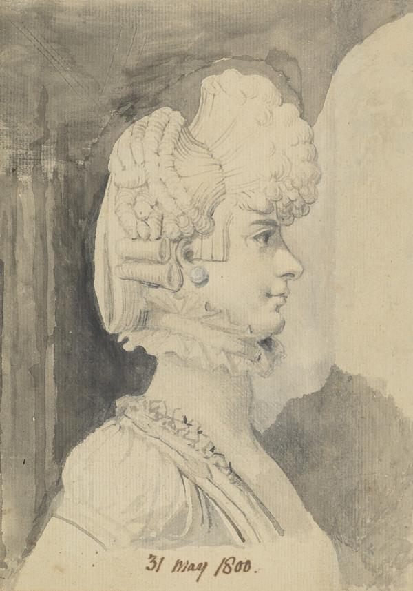 Portrait of Mrs Fuseli (31 May 1800)