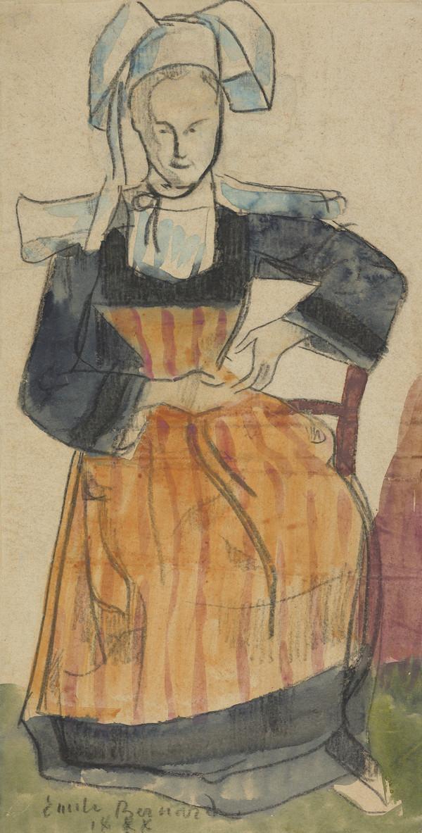 Young Breton Woman (1888)