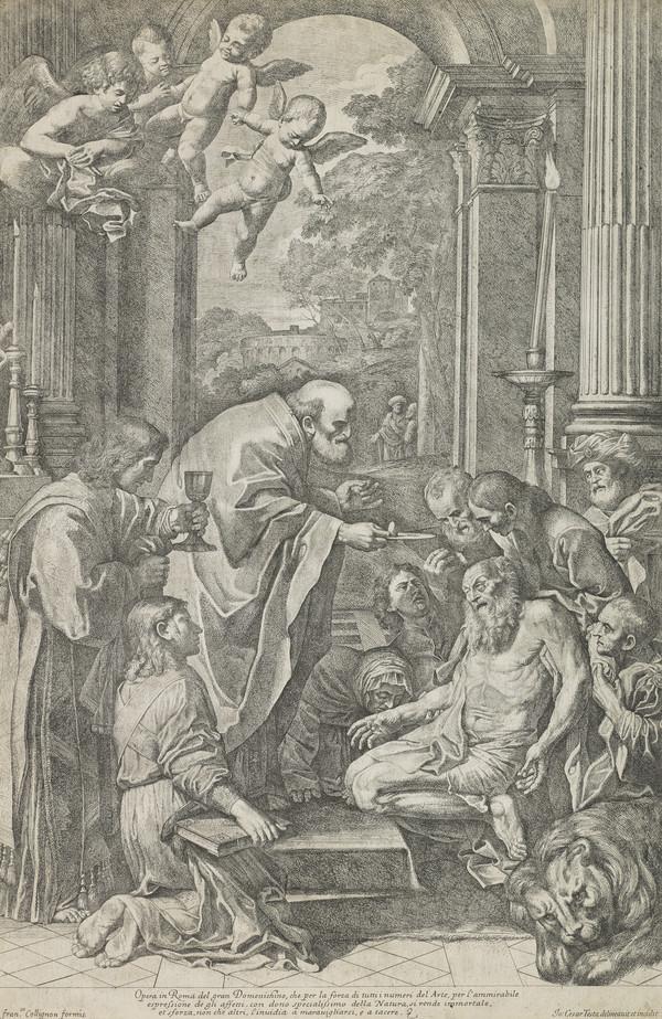 The Last Communion of Saint Jerome (1650 - 1655)