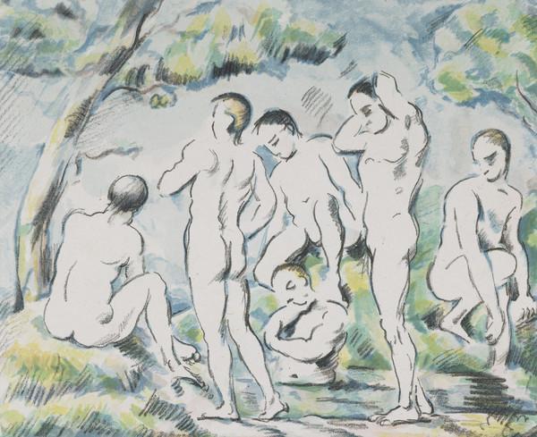 Bathers (1896 - 1897)