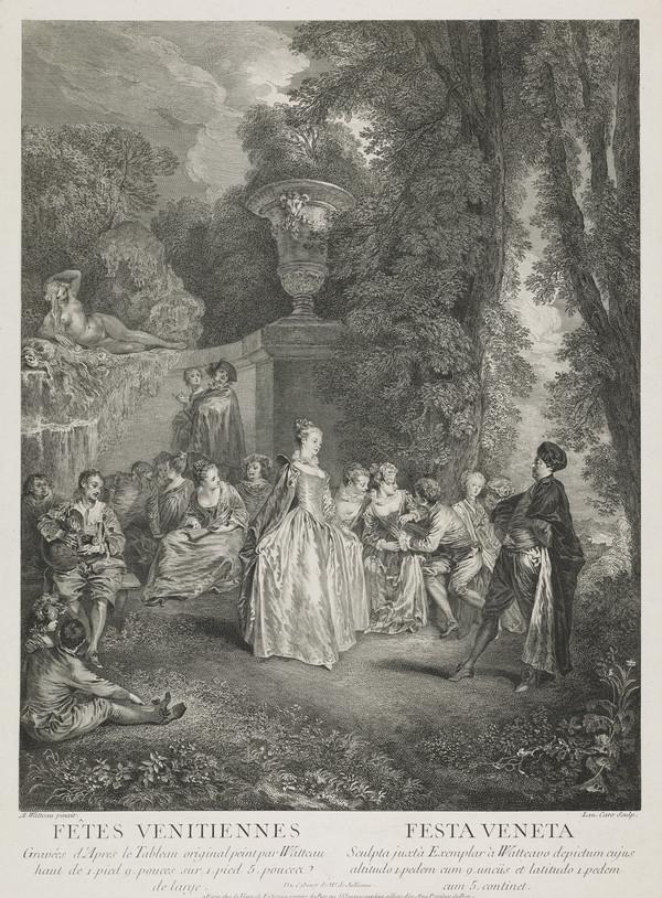 Fêtes Venitiennes (See NG 439)