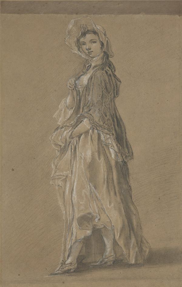 A Girl (1745 - 1750)
