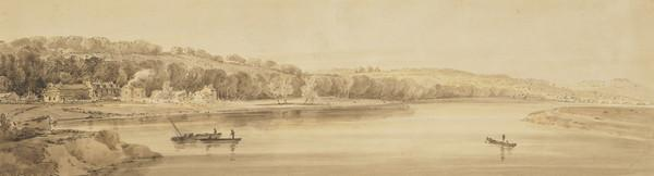 Picturesque Views of Paris: Banks of the Marne at Charenton (1802)