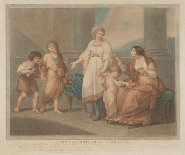 Cornelia, Mother of Gracchi (1788)