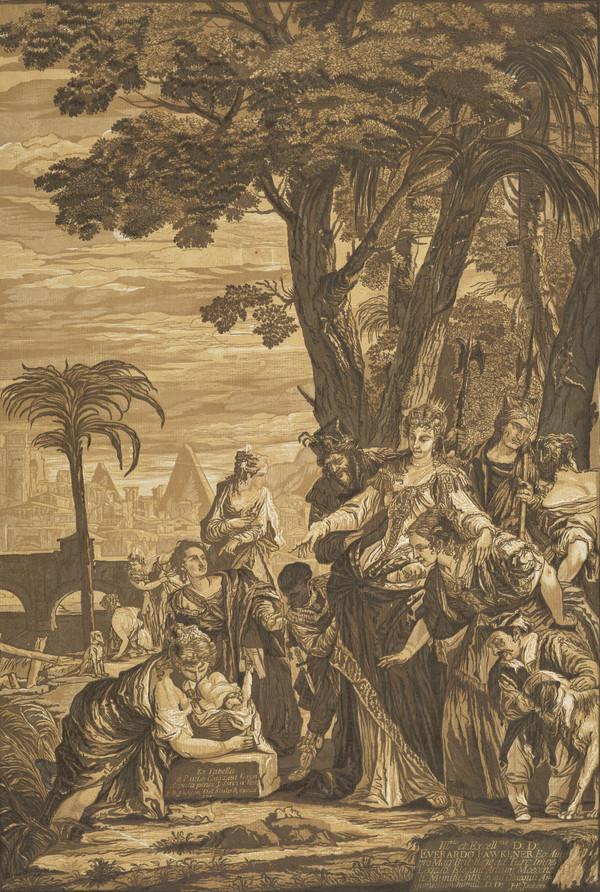 Finding of Moses (1741)