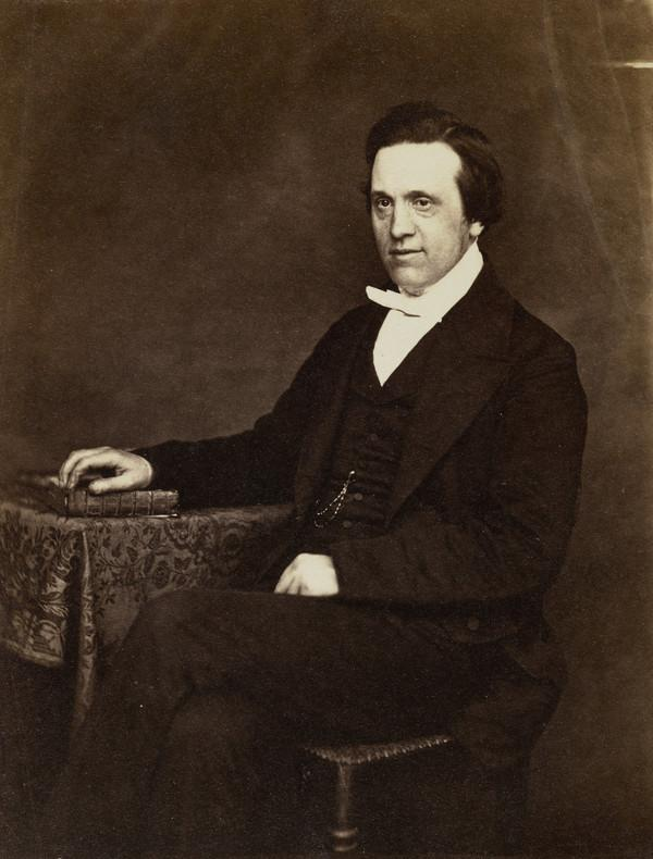 Rev. Mr Reid (About 1855)