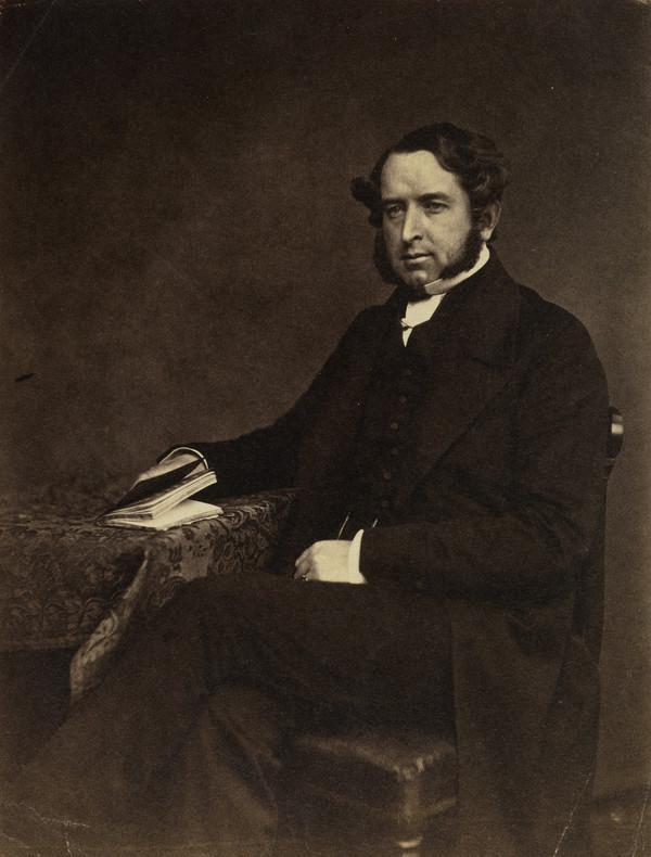 Rev. Mr Faithfull (About 1855)