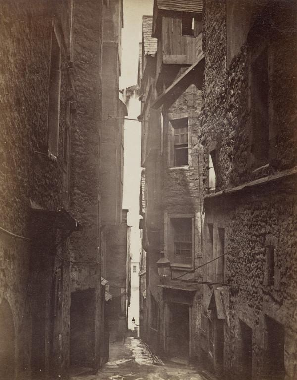 Advocate's Close, High Street (19th century)