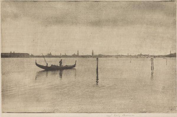 Venice from the Lido (1894)
