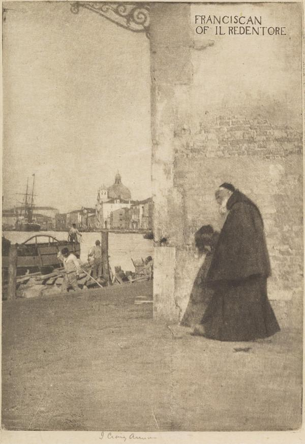 'Franciscan of Il Redentore' [title printed from plate] (1894)