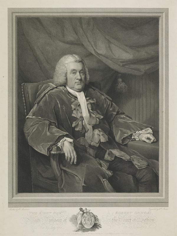 Robert Dundas of Arniston, 1713 - 1787. Judge; Lord President of the Court of Session (Published 1790)