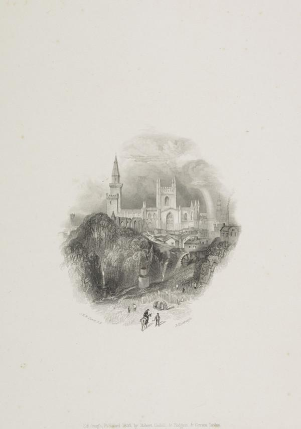 Dunfermline - Vignette Illustration for 'Tales of a Grandfather', from 'Scott's Prose Works', 1834 - 1836 (Rawlinson no. 544 I) (1836)