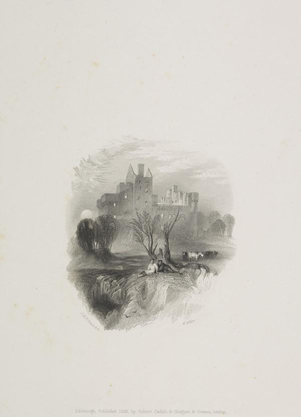 Craigmillar Castle - Vignette Illustration for 'Tales of a Grandfather', from 'Scott's Prose Works', 1834 - 1836 (Rawlinson no. 546 I) (1836)