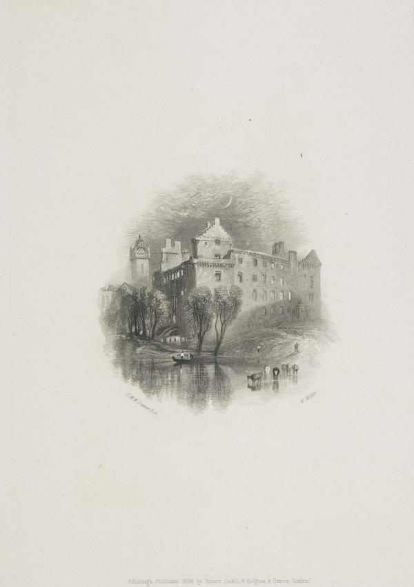 Linlithgow - Vignette Illustration for 'Tales of a Grandfather', from 'Scott's Prose Works', 1834 - 1836 (Rawlinson no. 548 I) (1836)