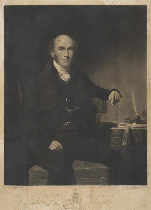 Andrew Skene, 1784 - 1835. Solicitor General for Scotland (Published 1836)