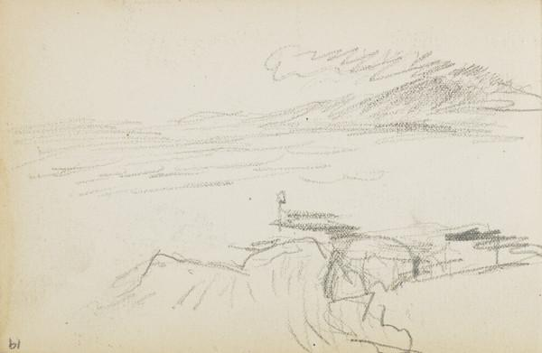 Possible sketch of coast (About 1883)