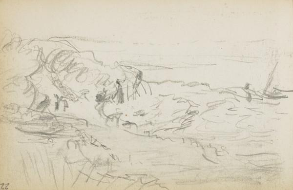 Study for 'The Storm' (About 1883)