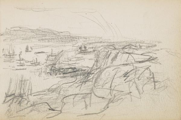 Study for 'Running for Shelter' (About 1883)