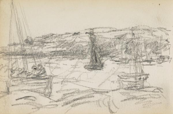 Sketch of boats (About 1883)