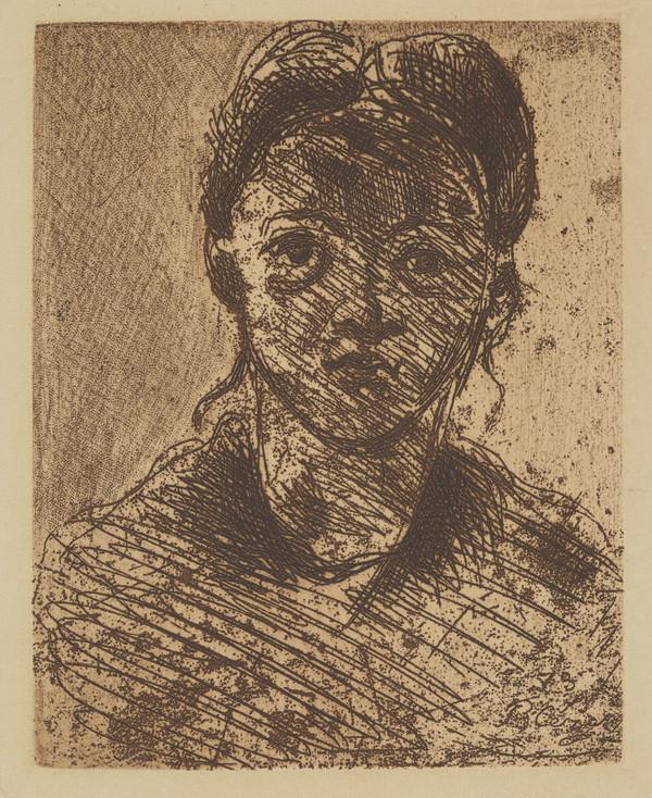 Tete de Jeune Fille (1873)
