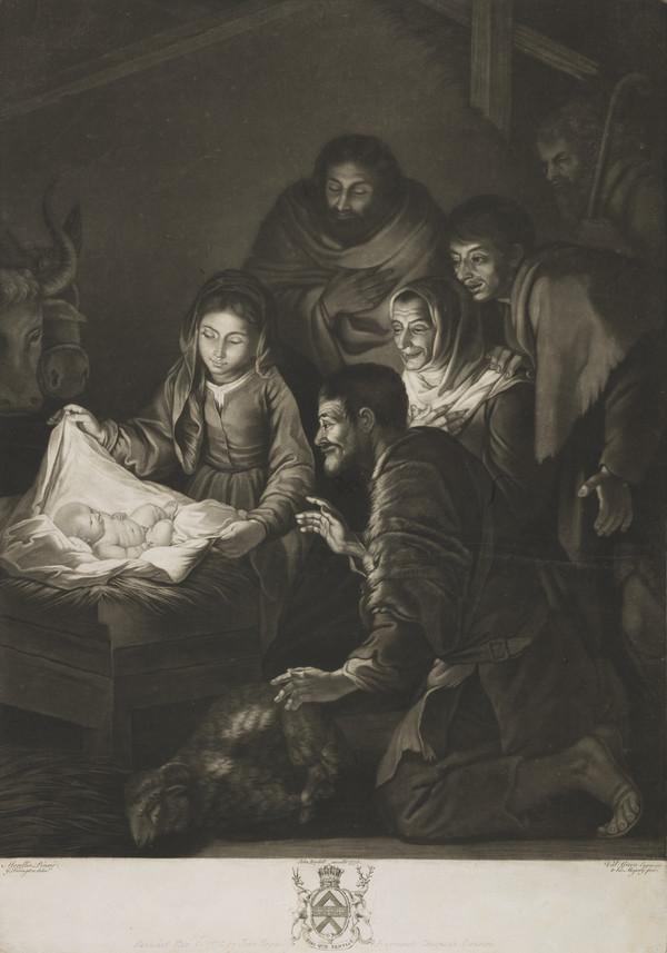 Adoration of the Shepherds (Published 1775)