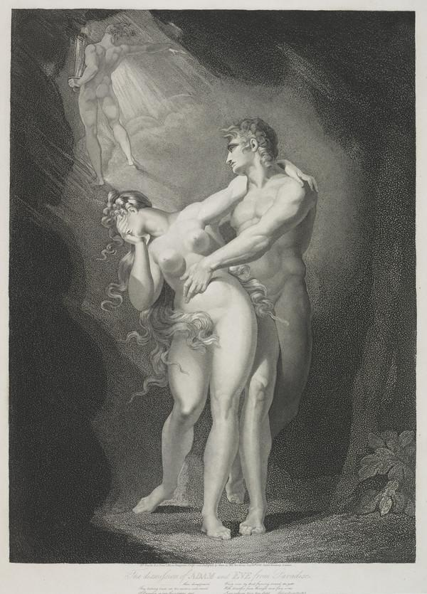 The Dismission of Adam and Eve from Paradise (1805)