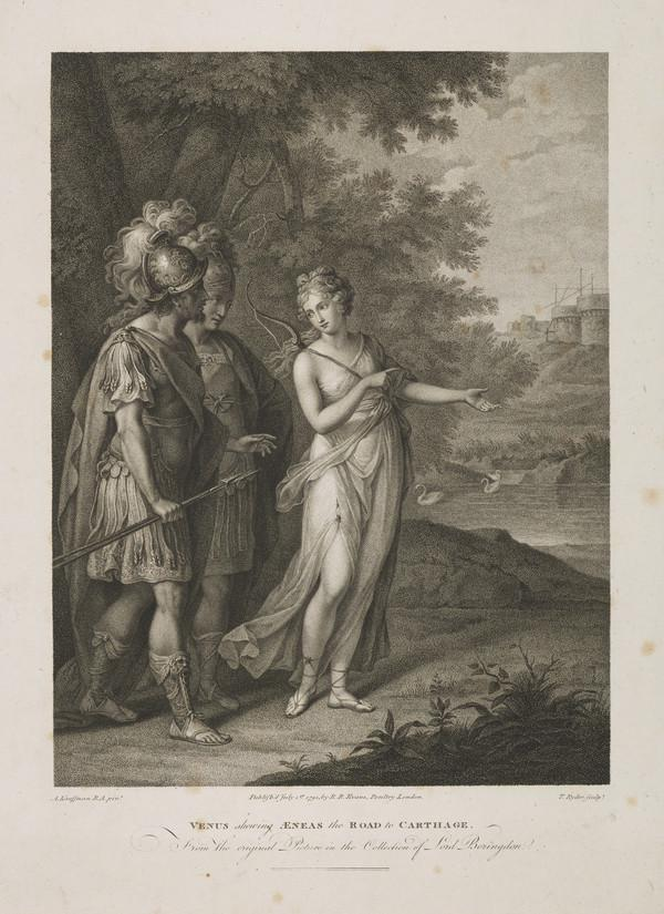 Venus Showing Aeneas the Road to Carthage (1791)