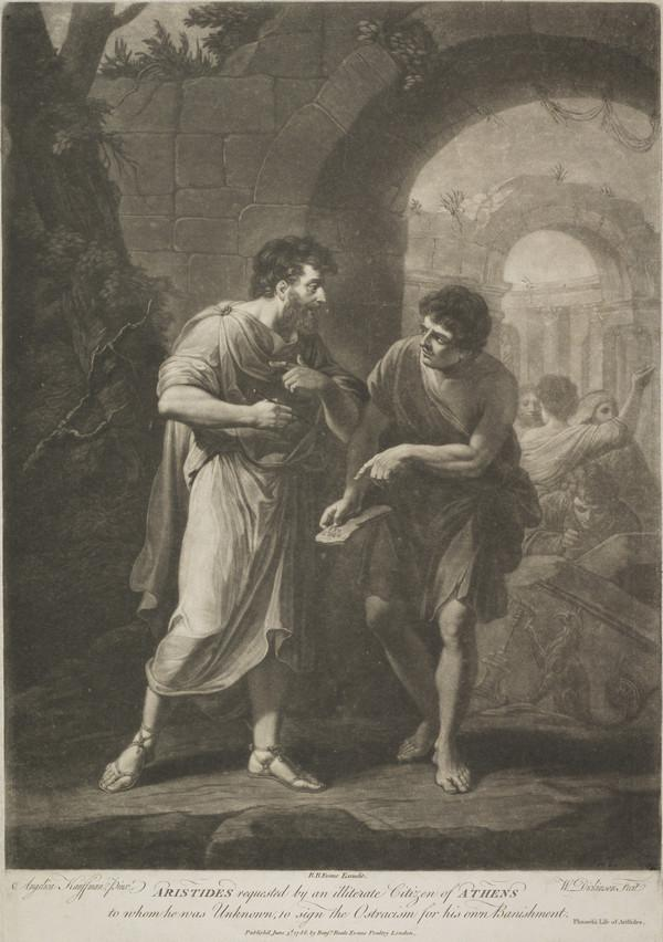 Aristides Requested by an Illiterate Citizen of Athens (1786)