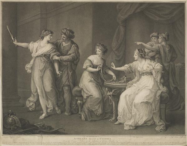 Achilles Discover'd by Ulysses (1786)