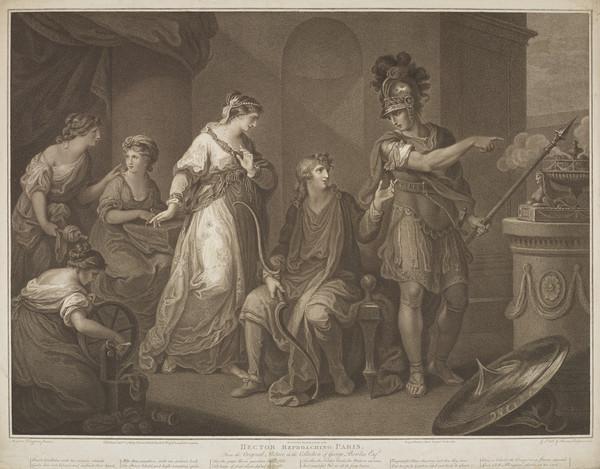 Hector Reproaching Paris (1788)