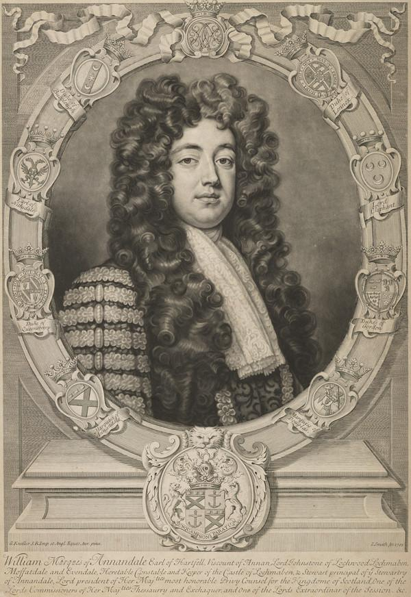 William Johnstone, 1st Marquis of Annandale, Earl of Hartfell, d. 1721 (1703)