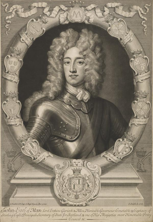 John Erskine, 6th Earl of Mar, 1675 - 1732 (1707)