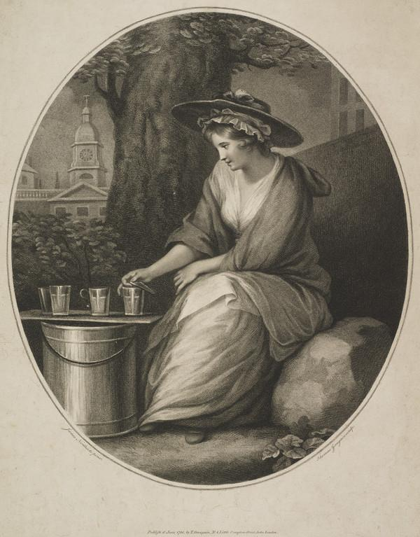 Young Girl with Bucket and Glasses (1786)