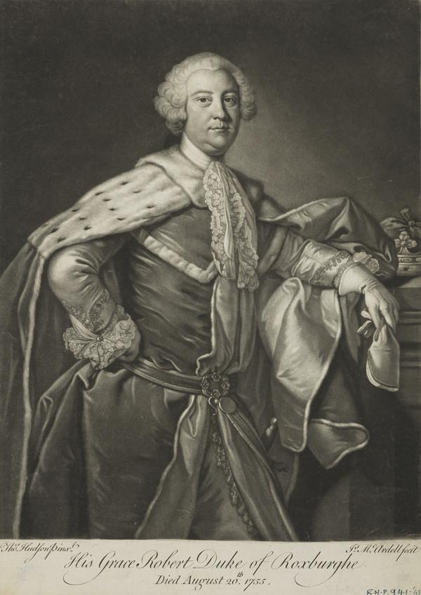His Grace, Robert, Duke of Roxburghe