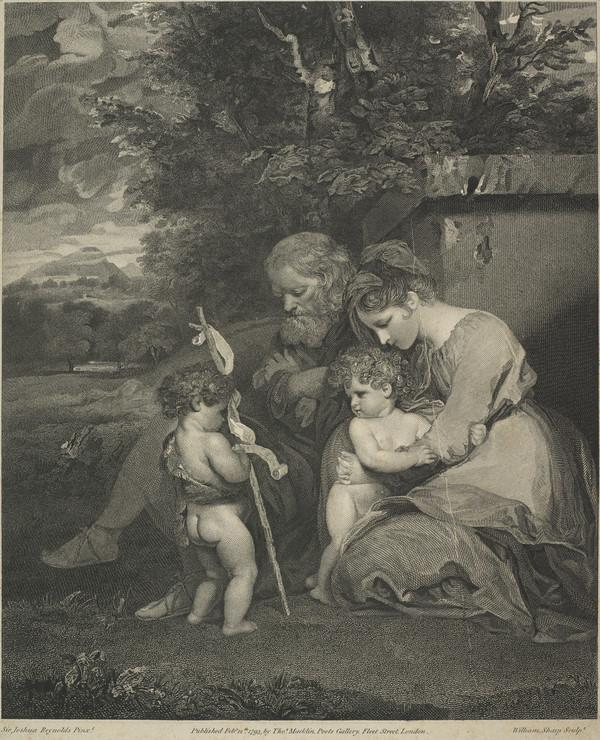 Holy Family with the Young Saint John (1793)