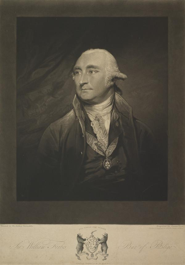 Sir William Forbes of Pitsligo, 1739 - 1806. Banker and author (1800)
