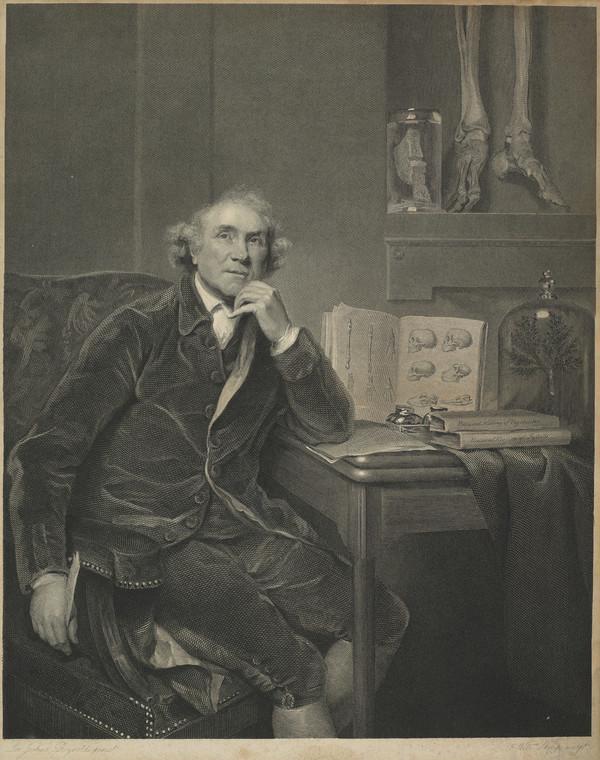 Dr John Hunter, 1728 - 1793