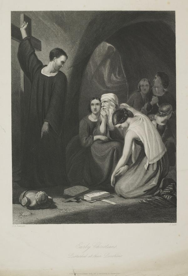 Early Christians Disturbed at their Devotions (1845)