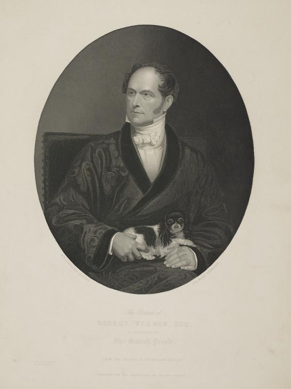 Portrait of Robert Vernon