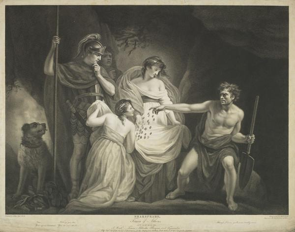 Shakespeare: Timon of Athens. Act IV Scene III (1799)